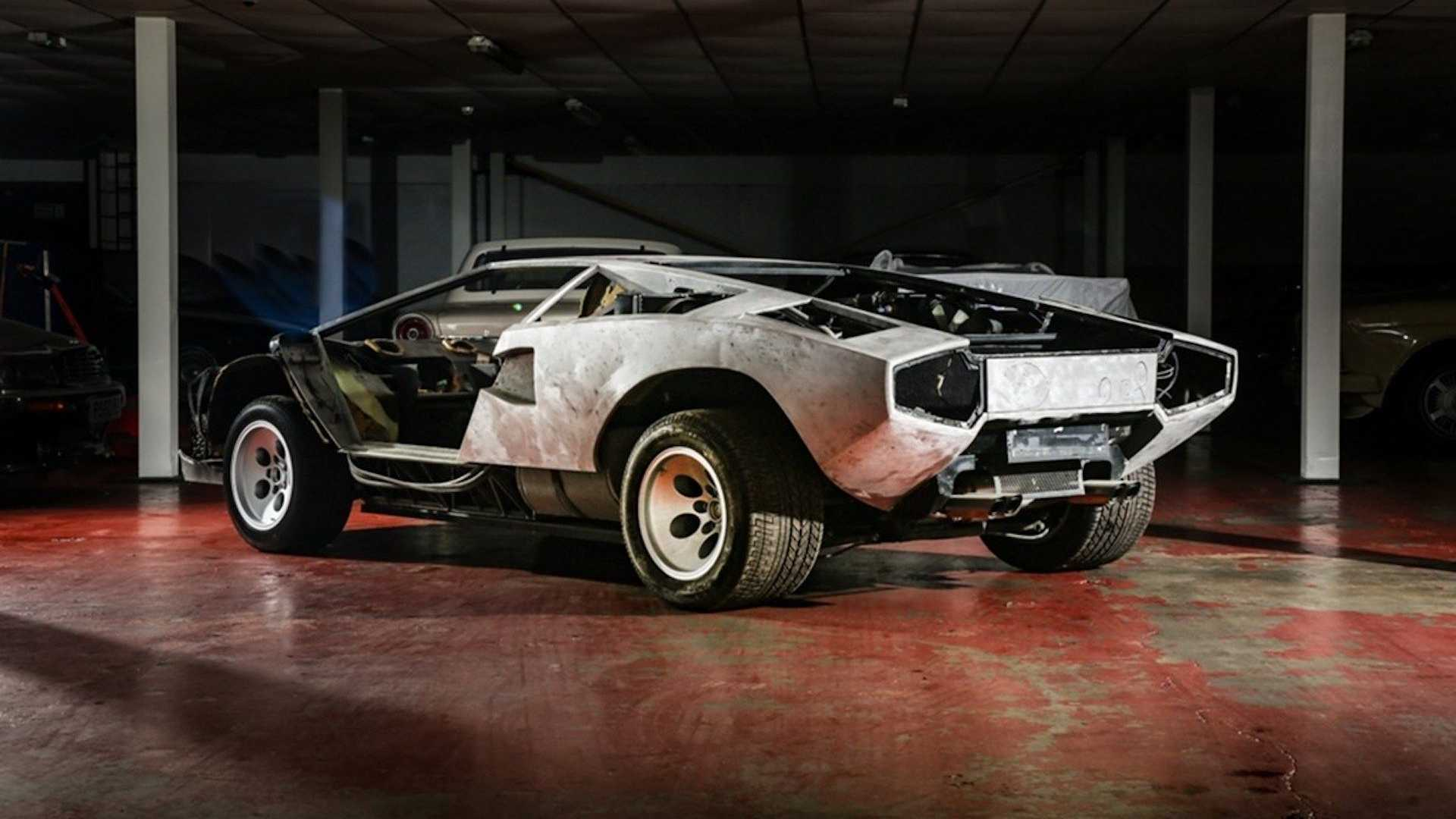 Cheapest Classic Lamborghini Countach Up For Sale But There's A Catch